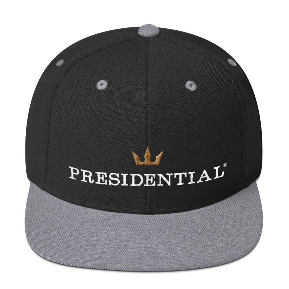 PRESIDENTIAL CROWN FRONT |  SNAPBACK