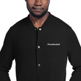 Embroidered Champion PRESIDENTIAL Bomber Jacket - Presidential Brand (R)