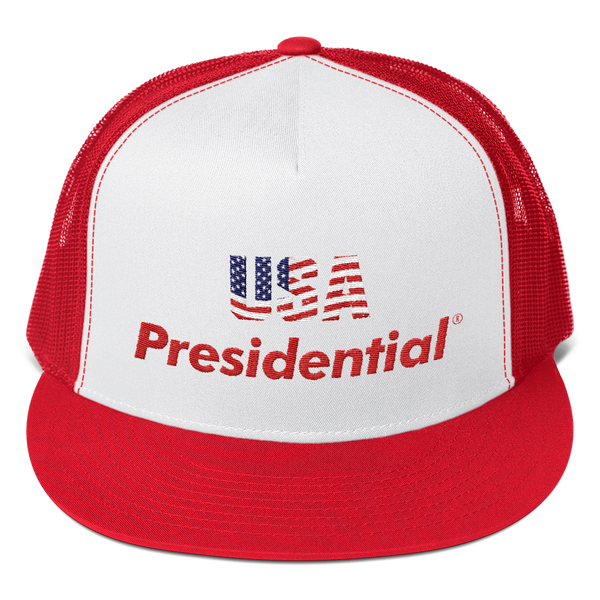 Trucker Cap USA PRESIDENTIAL (Red)