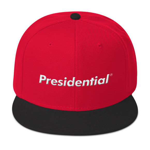 Presidential Snapback Hat Two Colors - Presidential Brand (R)