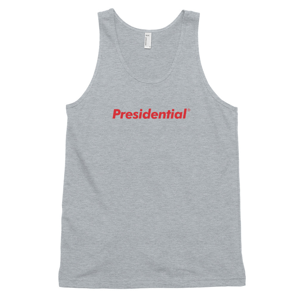 Presidential Red Classic tank top (unisex)