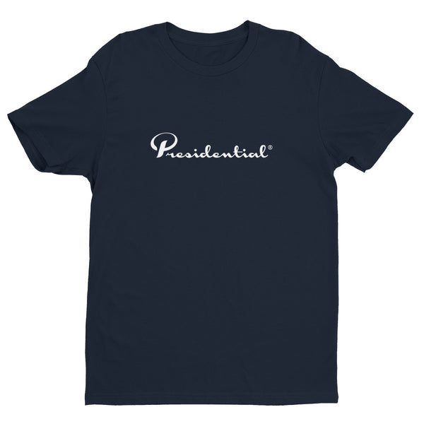 Presidential White Short Sleeve T-shirt