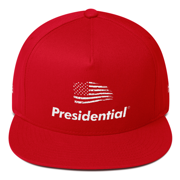PRESIDENTIAL | Flat Bill Flag Cap