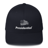 Structured Twill Cap FLAG PRESIDENTIAL - Presidential Brand (R)