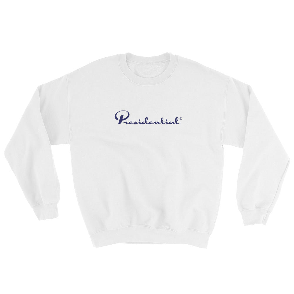 Presidential Blue Side Icon Design Sweatshirt
