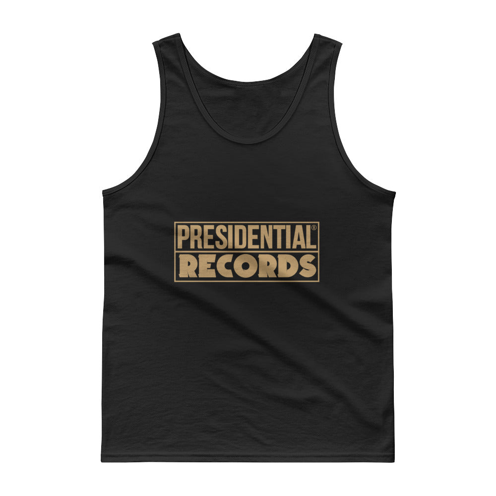 Presidential Records Gold Tank Top