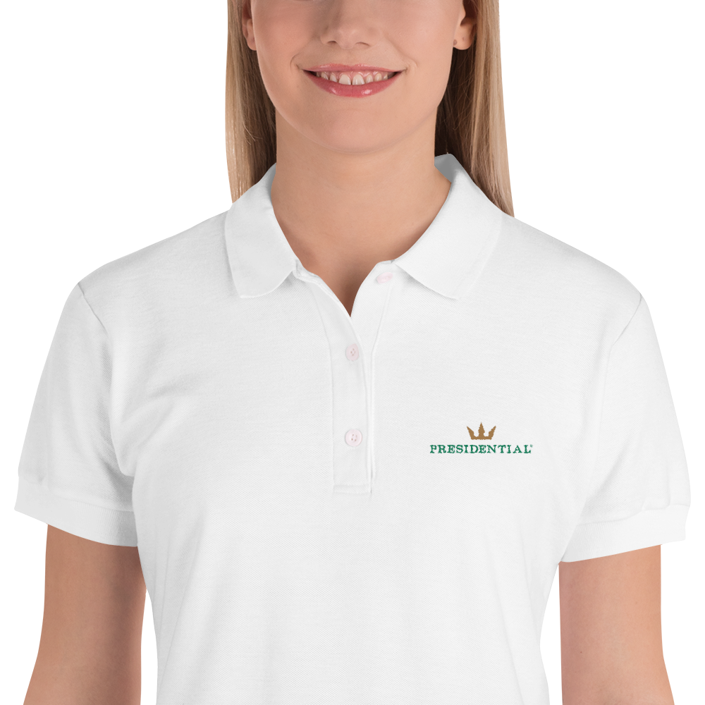 Gildan 82800L Embroidered Women's Premium Polo Shirt