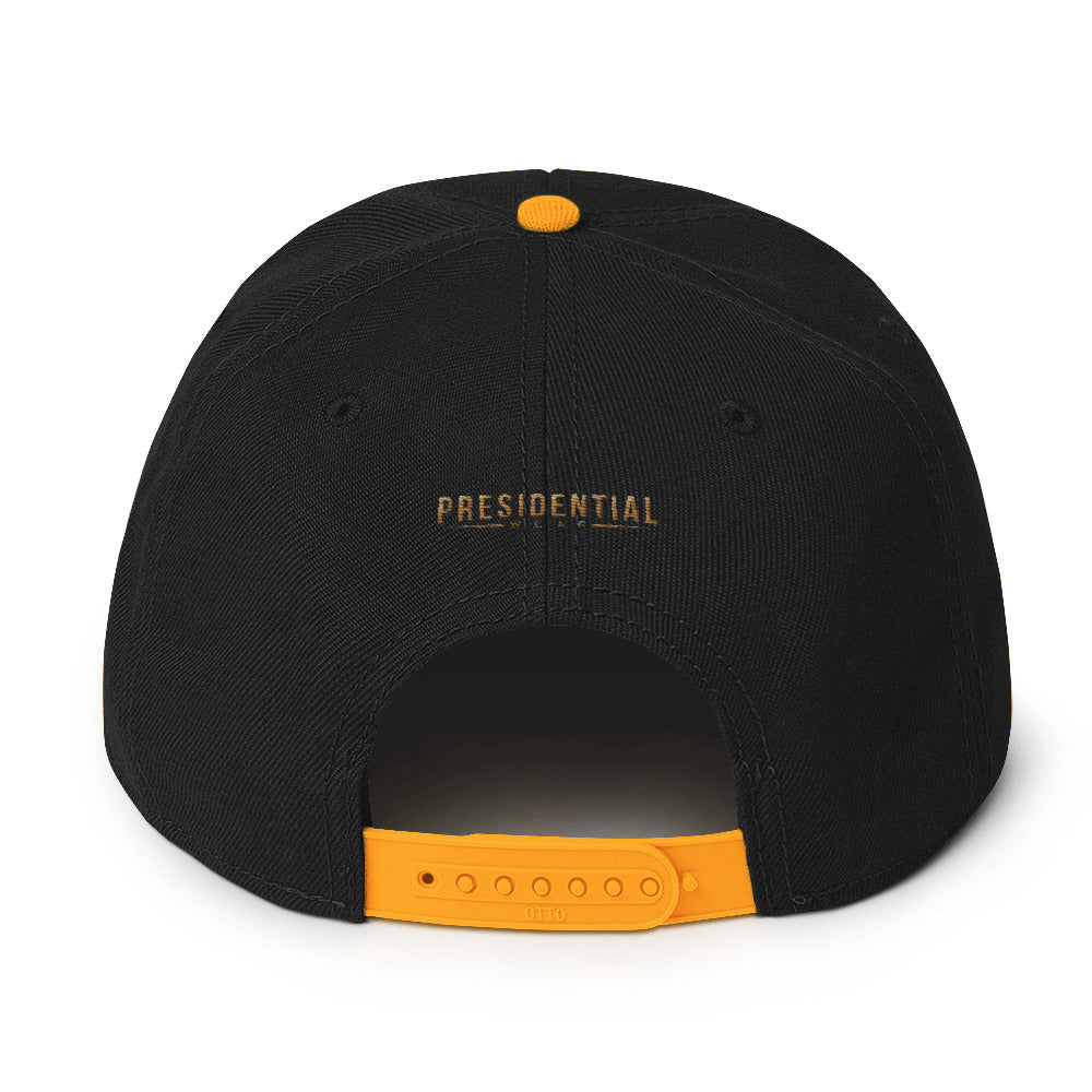 Presidential P Icon Gold |Snapback Hat