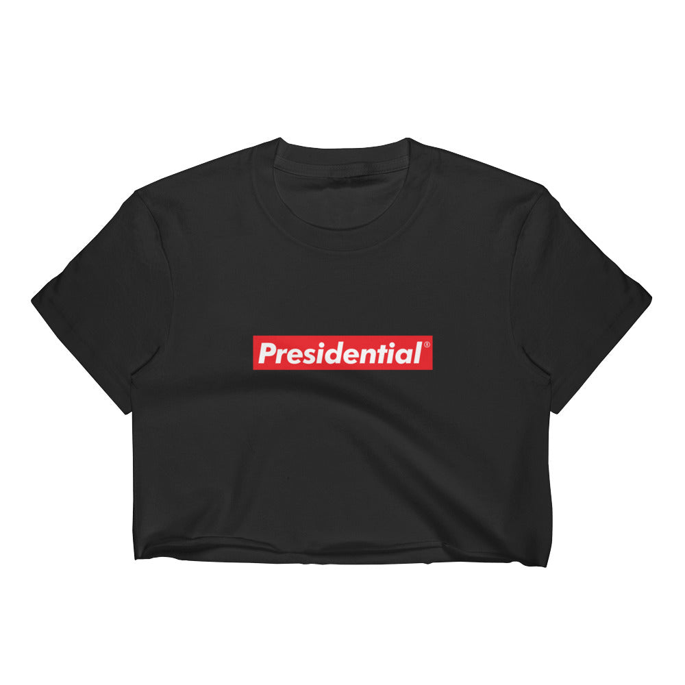 Presidential Red Box Women's Crop Top