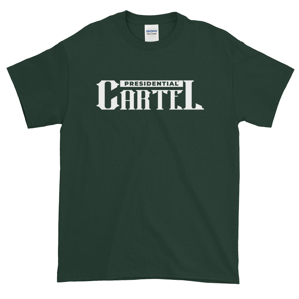 Presidential Cartel White Short-Sleeve T-Shirt