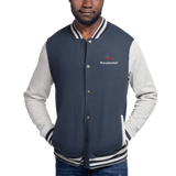 Embroidered Champion PRESIDENTIAL FLAG Bomber Jacket - Presidential Brand (R)