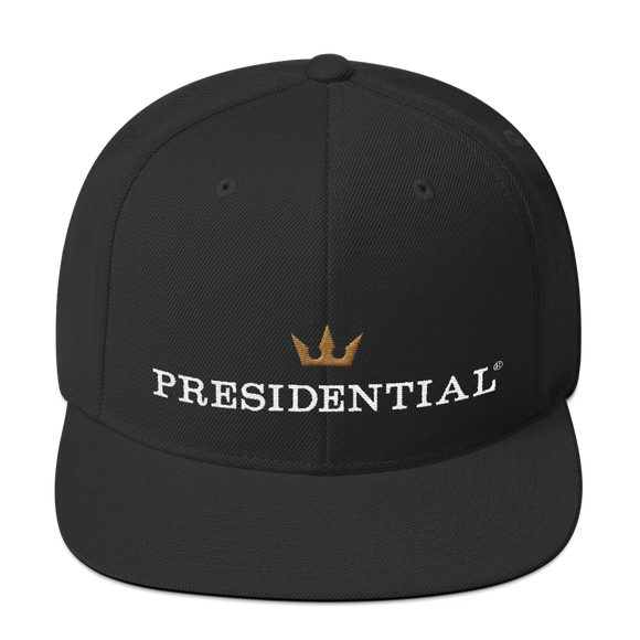 PRESIDENTIAL CROWN FRONT |  SNAPBACK - Presidential Brand (R)