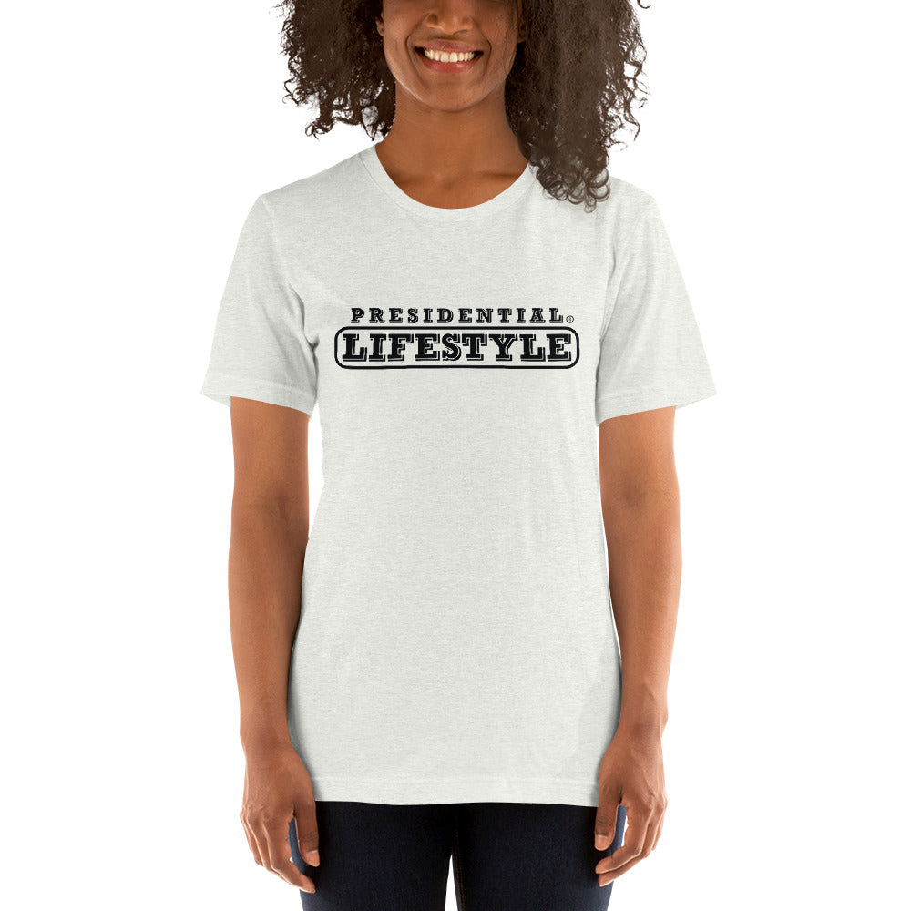Presidential Lifestyle Black Short-Sleeve Unisex T-Shirt