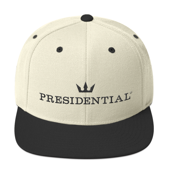 PRESIDENTIAL CROWN LOGO | SNAPBACK