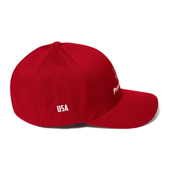 Structured Twill Cap FLAG PRESIDENTIAL