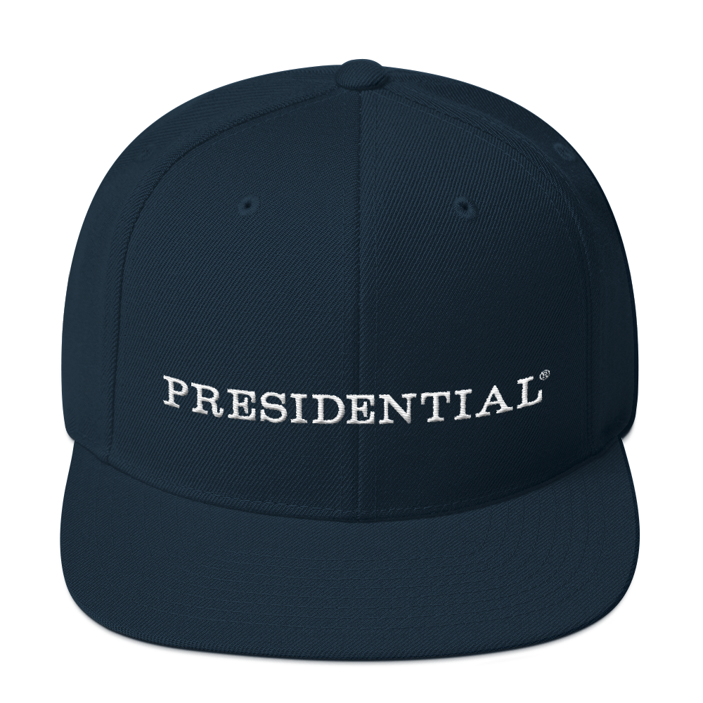 PRESIDENTIAL CROWN ON BACK | SNAPBACK