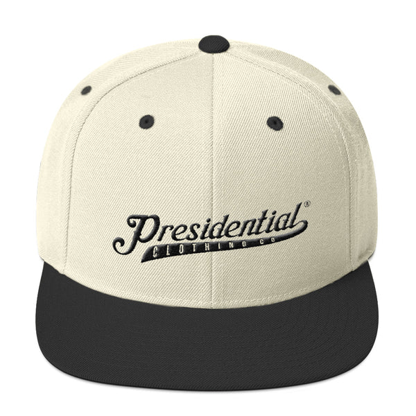 Presidential Clothing Black Snapback Hat