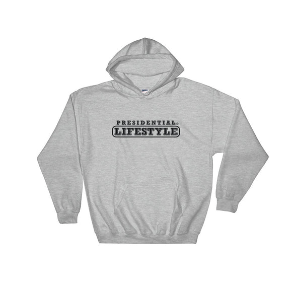 Presidential Lifestyle Black Hooded Sweatshirt - Presidential Brand (R)