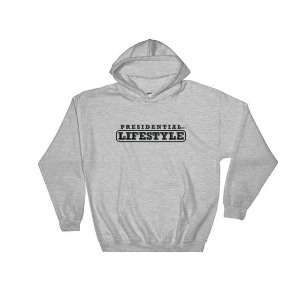 Presidential Lifestyle Black Hooded Sweatshirt