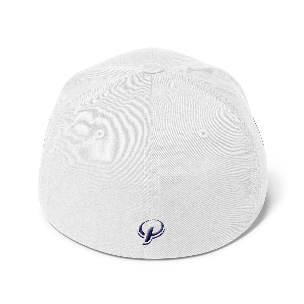 Presidential Blue Structured Twill Cap