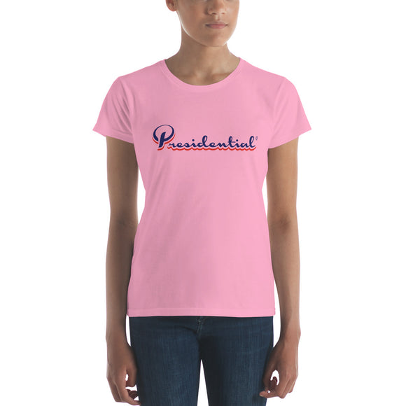 Presidential Two Color Women's short sleeve t-shirt - Presidential Brand (R)