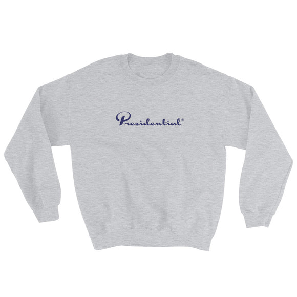 Presidential Blue Side Icon Design Sweatshirt - Presidential Brand (R)
