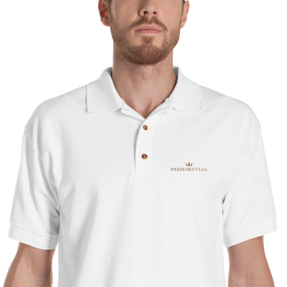 Gildan 3800 Embroidered Presidential Polo Shirt