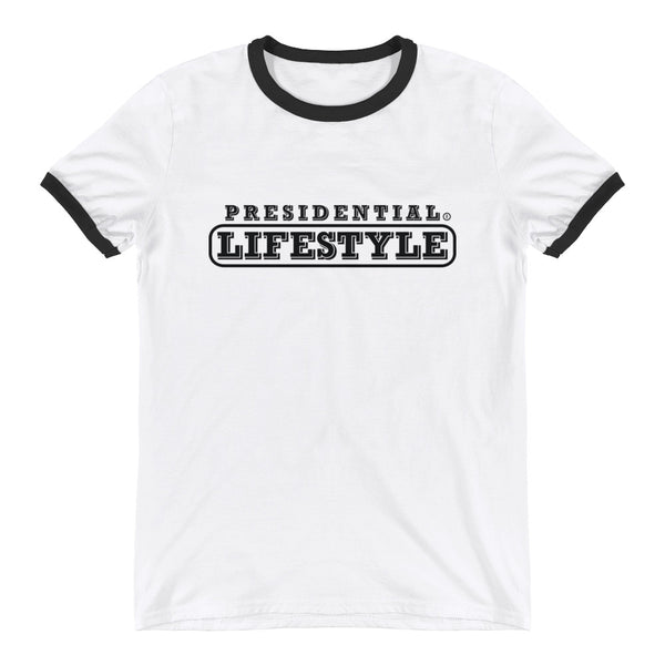 Presidential Lifestyle Black Ringer T-Shirt