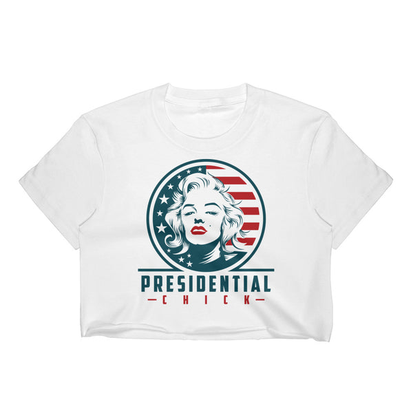 Presidential Chick Women's Crop Top