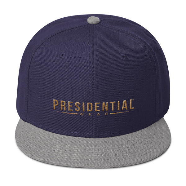 Presidential Wear Gold Snapback Hat