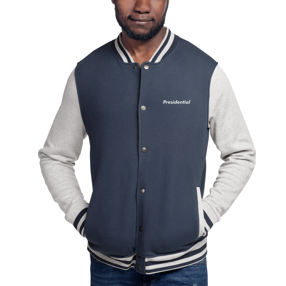 Embroidered Champion PRESIDENTIAL Bomber Jacket