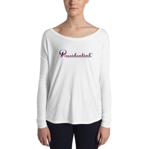 Presidential Two Color Ladies' Long Sleeve Tee