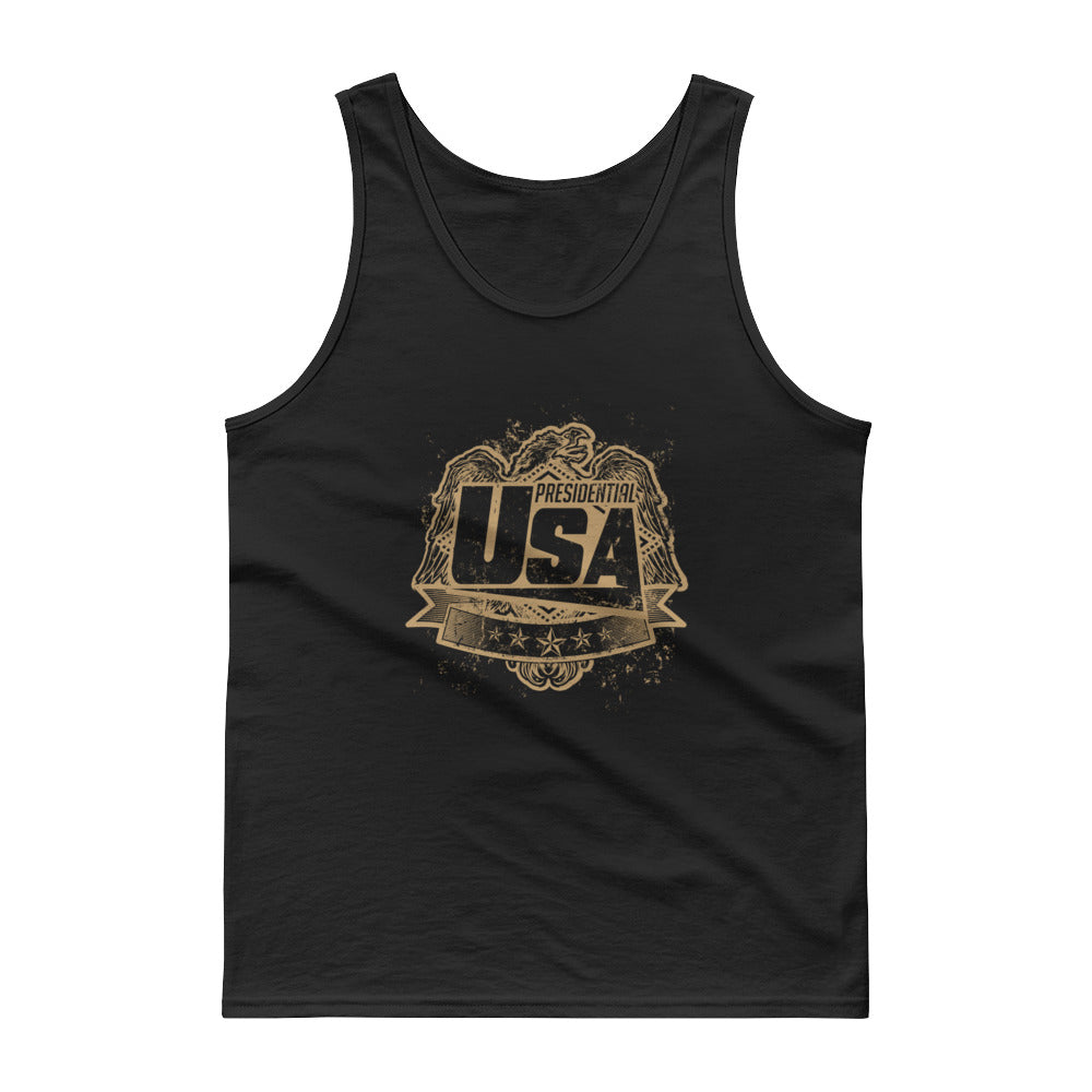 Presidential Eagle Gold Tank Top