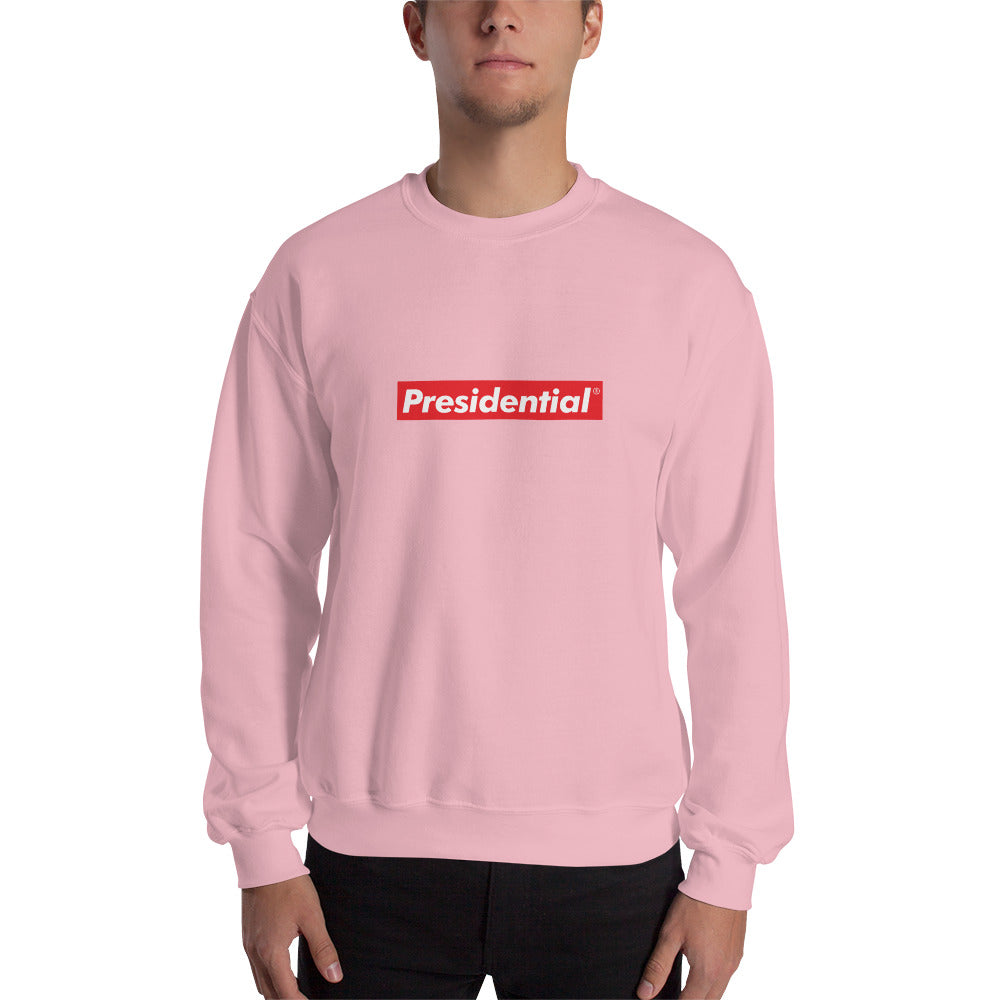 Presidential Red Box Sweatshirt