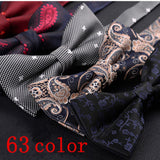 men bow tie women's shirt tie wedding butterfly for man gift bowtie formal dresses ribbon neck bow accessoires vestidos formales - Presidential Brand (R)