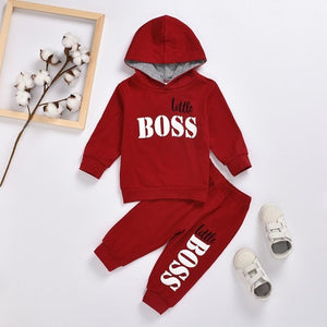 LZH Children Clothing Sets 2021 Autumn Spring Baby Girls Clothes Long Sleeve Hooded Casual Tracksuit Suits Toddler Boys Clothes - Presidential Brand (R)