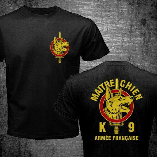France Maitre Chien French Army War Dog k9 Special Forces  Military T-shirt - Presidential Brand (R)