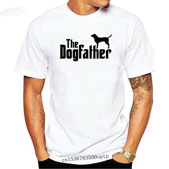 K9 T Shirt Short Sleeve Men The Dogfather K9 Lover Trainer Dog Tee - Presidential Brand (R)