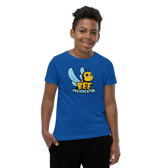 Youth Short Sleeve T-Shirt - Bee Presidential Blue