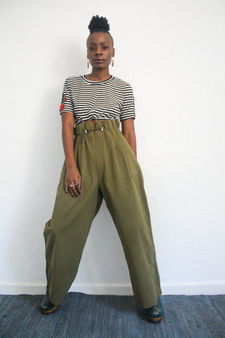 Itoldyaso High Waisted Trousers