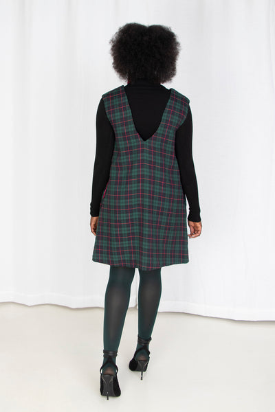 Innuendo Plaid Mini Dress