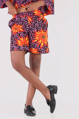 Fireworks Printed Shorts