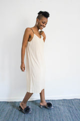 Junie Pleated Slip Dress