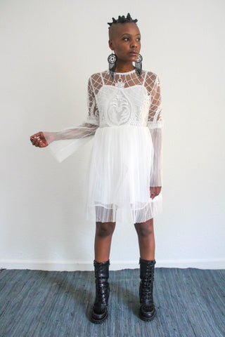 Renaissance Moon Lace Dress