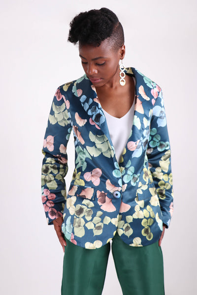 Like A Boy Leaf Blazer