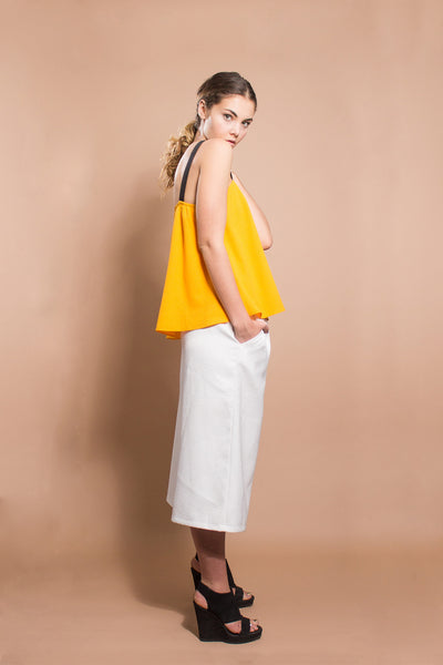 Orange Moon Summer Top