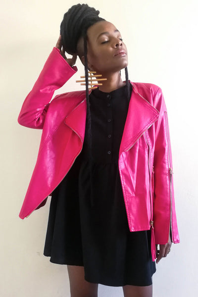 She Leatherette Jacket