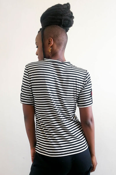 Borderline Striped T-shirt