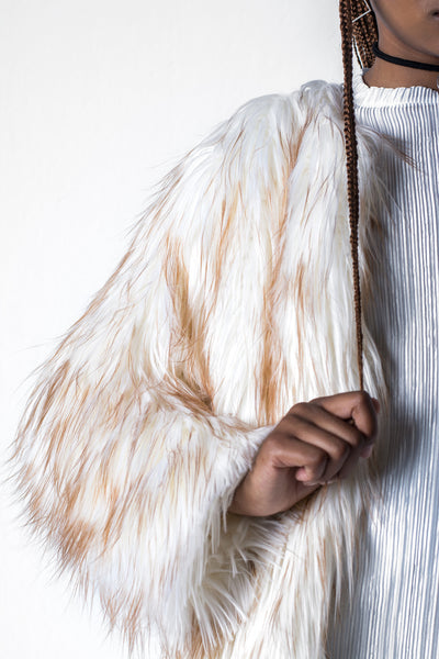 Joanne The Scammer Faux Fur Coat