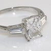 1.75 Carat Radiant Cut 3 Stone CZ Fashion Ring
